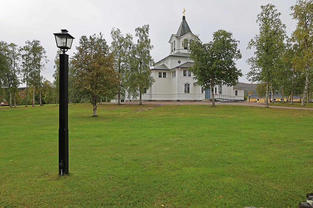 Kyrkan i Gällivare.