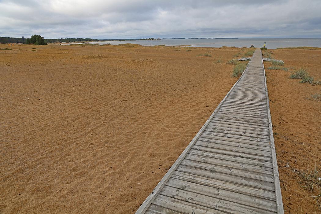 Kalajoki är känd för sin härliga sandstrand.