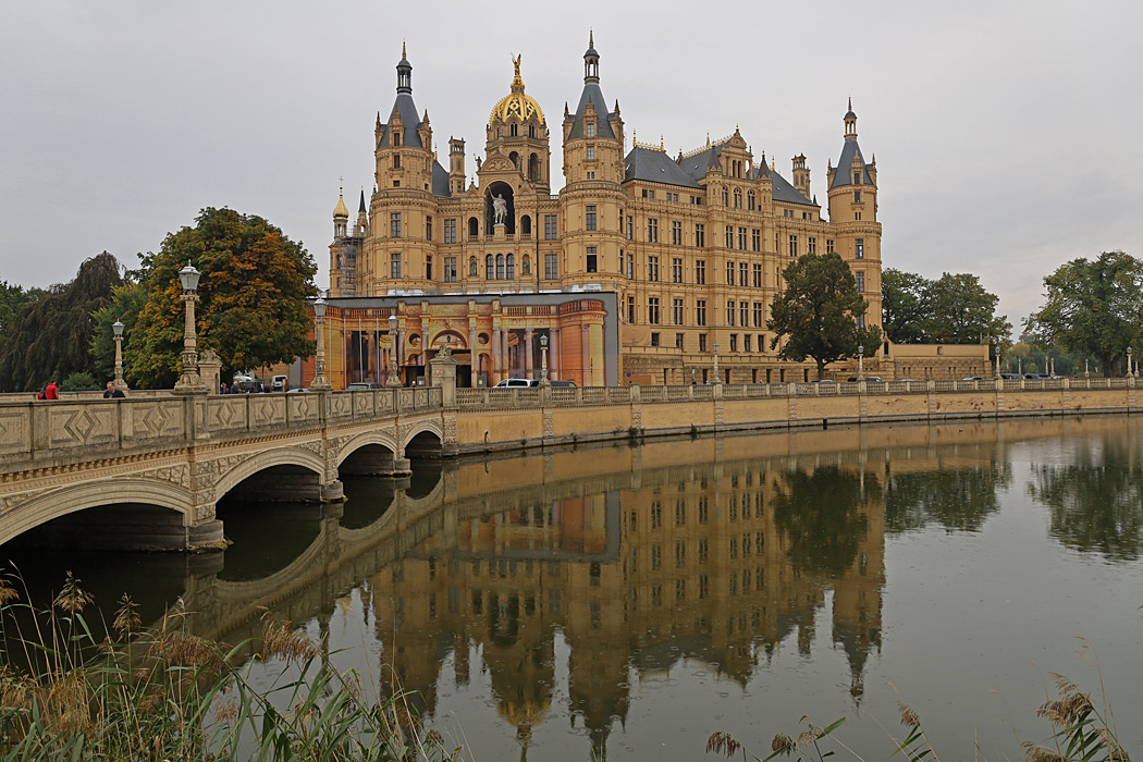 Slottet i Schwerin.