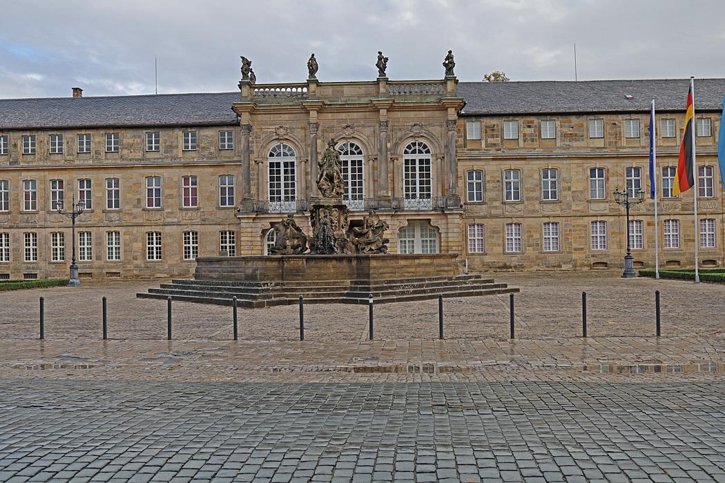 Slottet i Bayreuth.