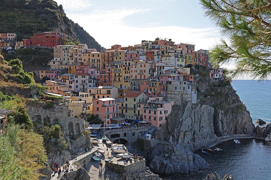 Detta är säkert det mest välkända landmärket för hela Cinque Terre.