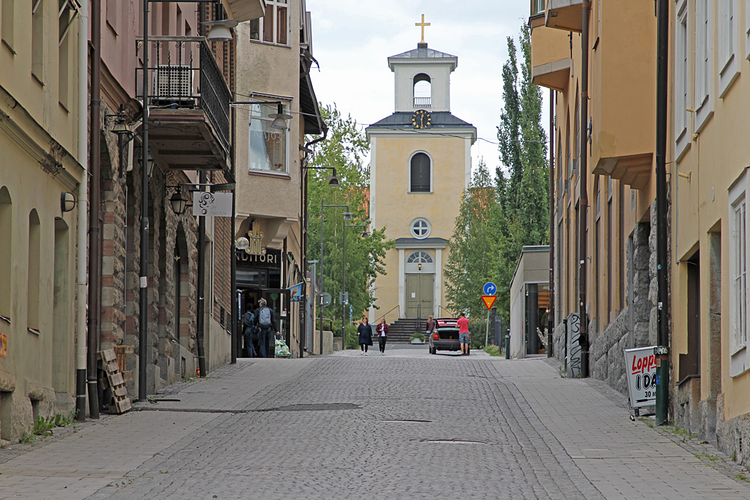 Östersunds gamla kyrka.