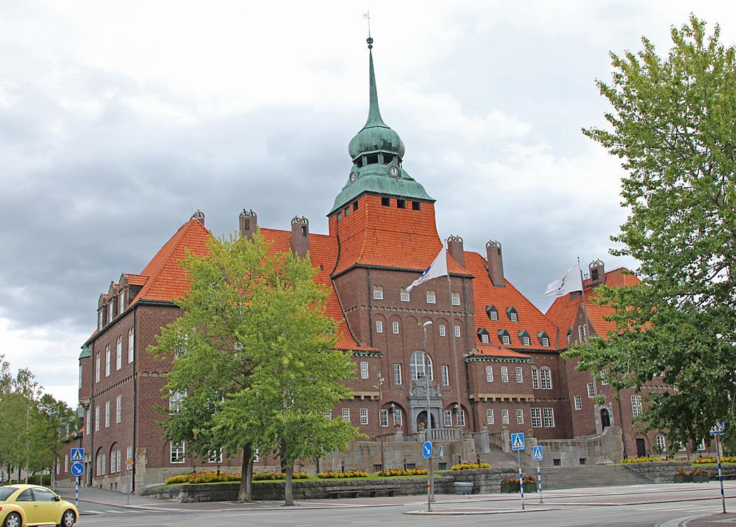 Östersunds rådhus.