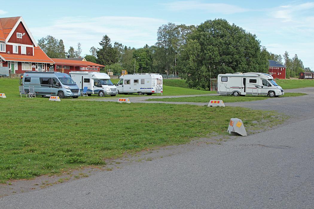 Ställplats vid Hembygdsgården i Strömsund.