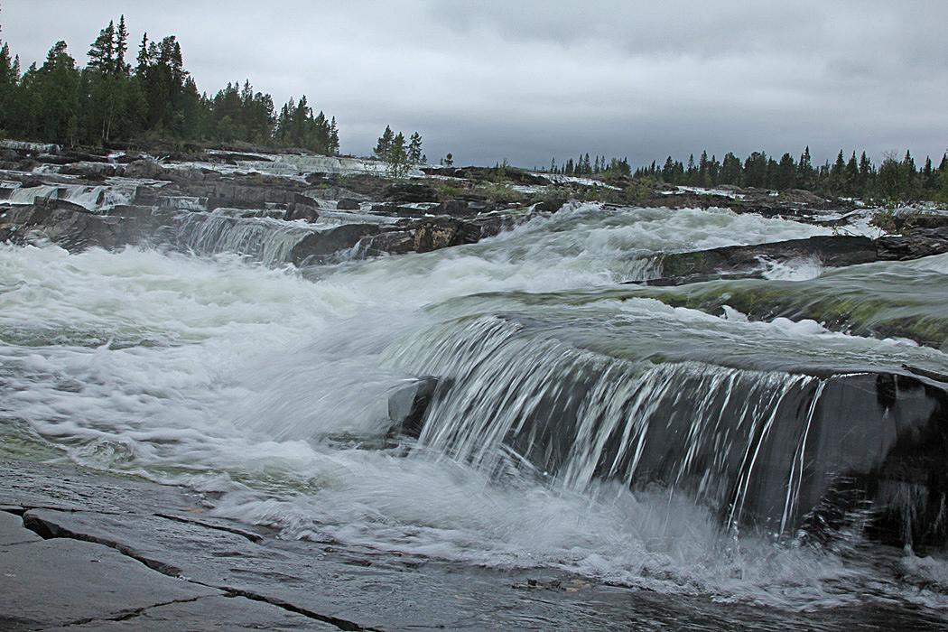 Trappstegsforsen är kanske ett av Sveriges mest fotograferade vattenfall.