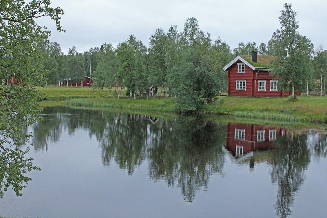Vid Saxnäs finns en del vackra blickfång.